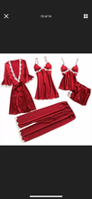 Load image into Gallery viewer, Giselle 5 piece Nightwear
