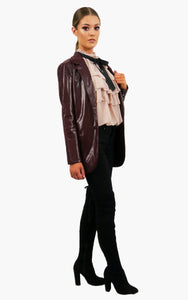 Verona Leather Look Snake Jacket