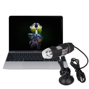 Microscope Usb Camera  Zoom 1000X  1080p -  HD USB Digital Endoscope Magnifier, Works on Mac, PC, iPhone, Android