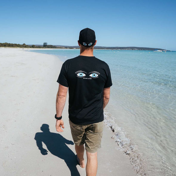 Shark Eyes T-Shirt | Surf and Dive Shark Deterrent | Australia