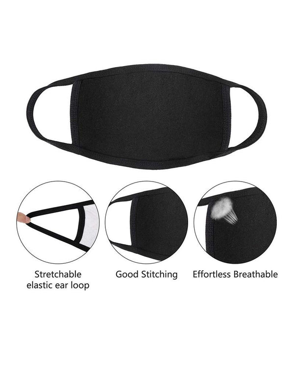 Breathable Mouth Mask Washable And Reusable
