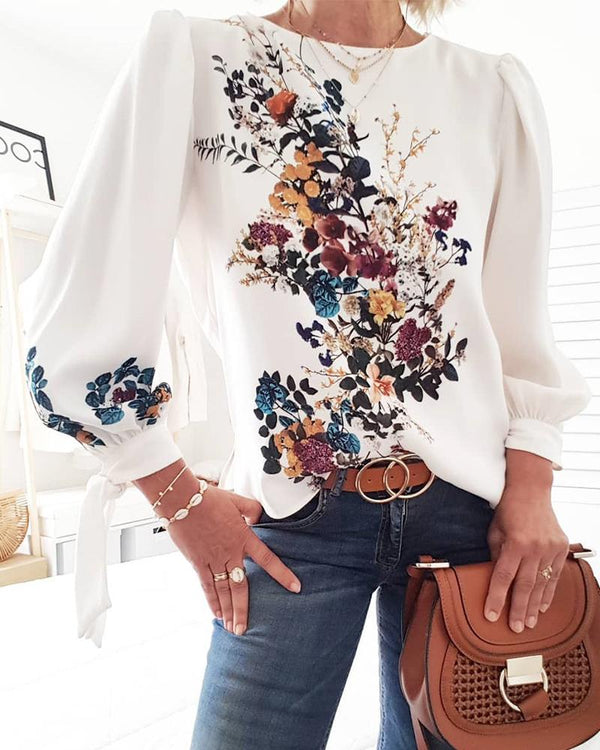 Lovely Bouquet Long Sleeve Top
