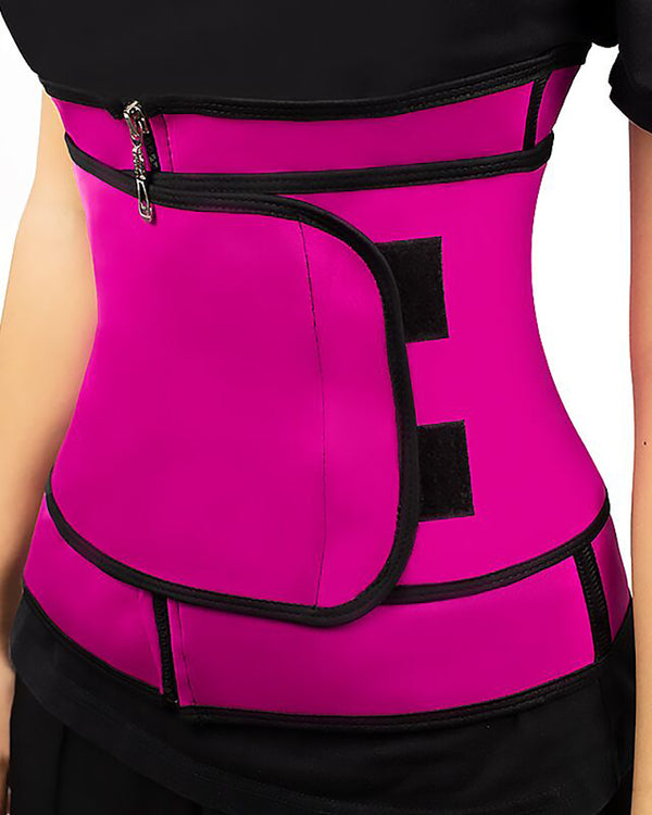 Waist Trainer Thermo Sweat Belt Tummy Body Shaper