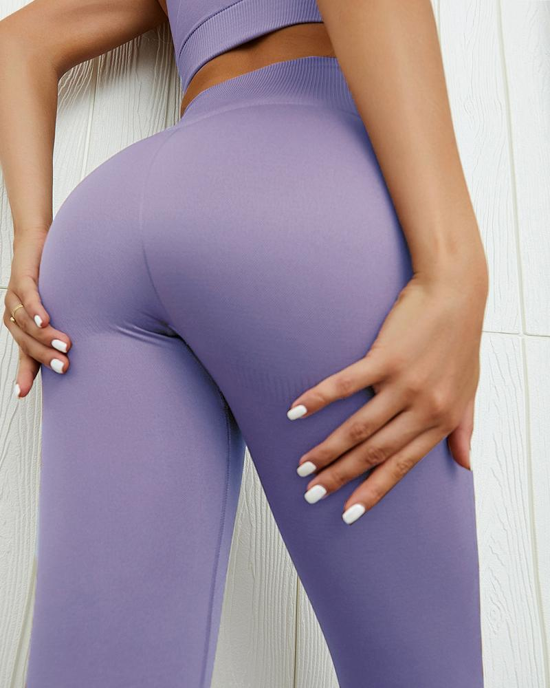 High Waist Seamless Sports Yoga Legging