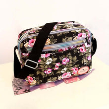Load image into Gallery viewer, Small Women Shoulder Bag Korean Style Fashion Floral Printing Women Messenger Bags Ladies Canvas Bags Mummy Bag  PT1195