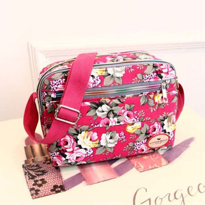 Small Women Shoulder Bag Korean Style Fashion Floral Printing Women Messenger Bags Ladies Canvas Bags Mummy Bag  PT1195