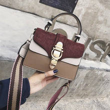 Load image into Gallery viewer, Women Handbags Fashion Women Messenger Bags Flap Crossbody Bag Hasp Cute Shoulder High Quality Small Handbags Sac A Main Femme
