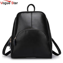 Load image into Gallery viewer, Vogue Star! 2019 NEW  fashion backpack women backpack  Leather school bag women Casual style YA80-165
