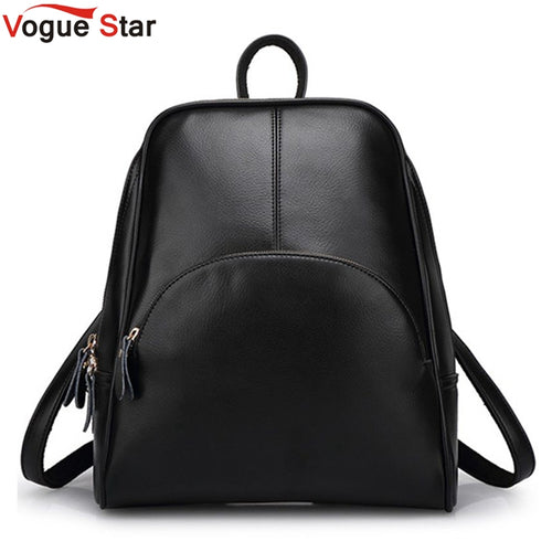 Vogue Star! 2019 NEW  fashion backpack women backpack  Leather school bag women Casual style YA80-165