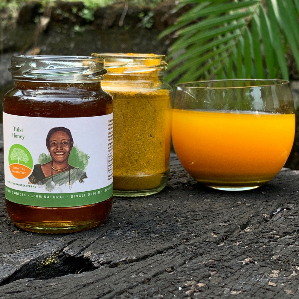 Honey and Turmeric Kadha Subscription - Your Monthly Immunity Booster!