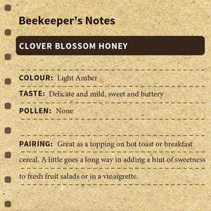 Clover Blossom Honey