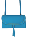 Lorna Crossbody Wallet - Capri Blue
