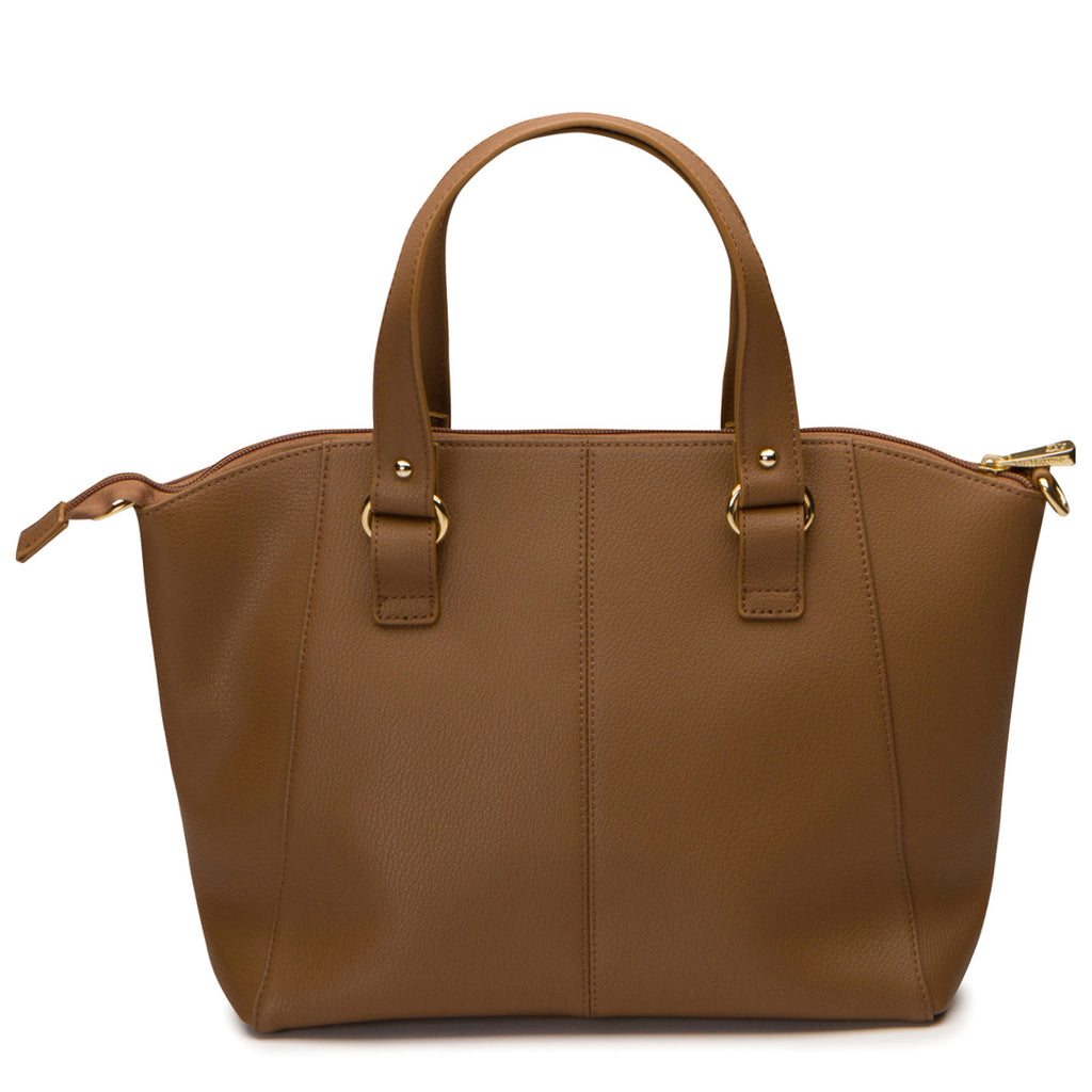 Alisa Satchel - Walnut