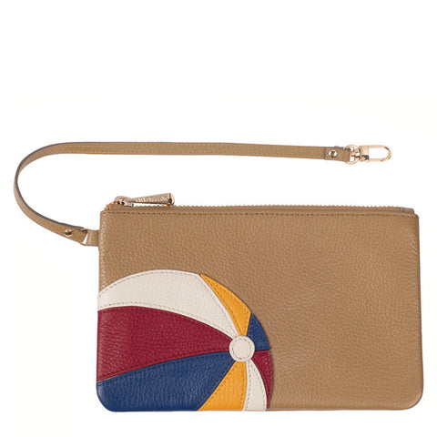 Beach Ball Pouch/Wristlet