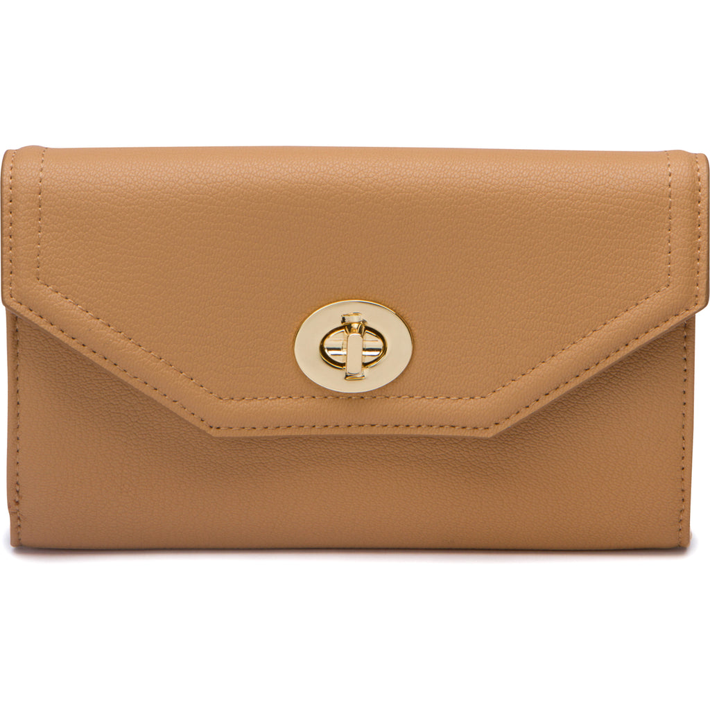 Darla Envelope Wallet - Almond