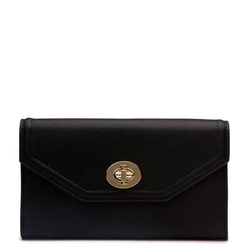 Darla Envelope Wallet - Black