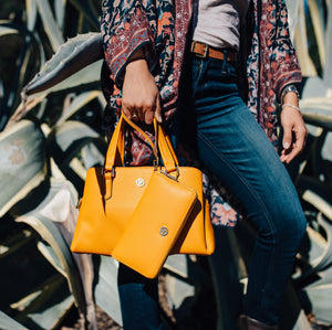 Evelyn Satchel - Butterscotch