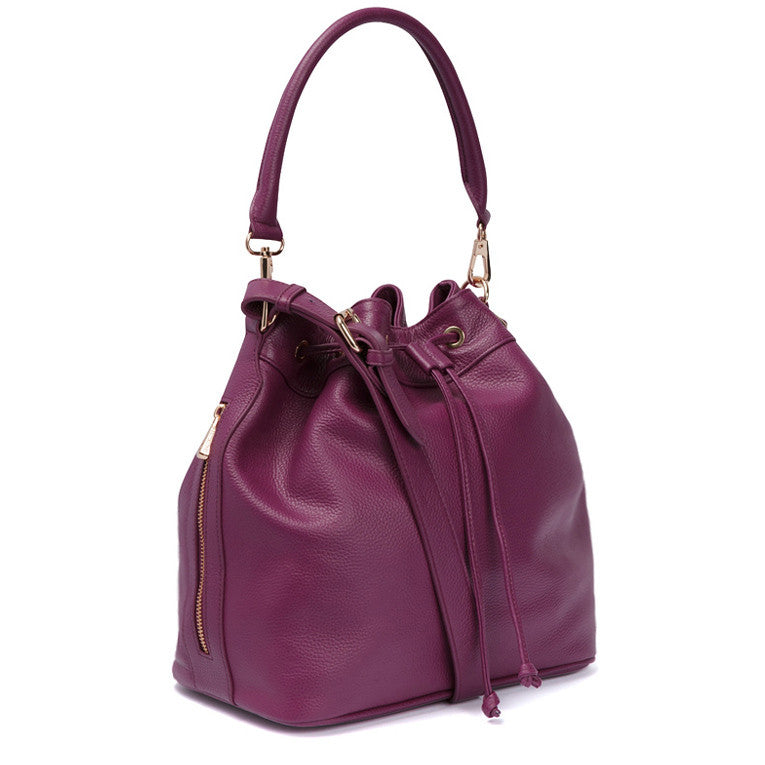 Claire Bucket Bag - Dahlia