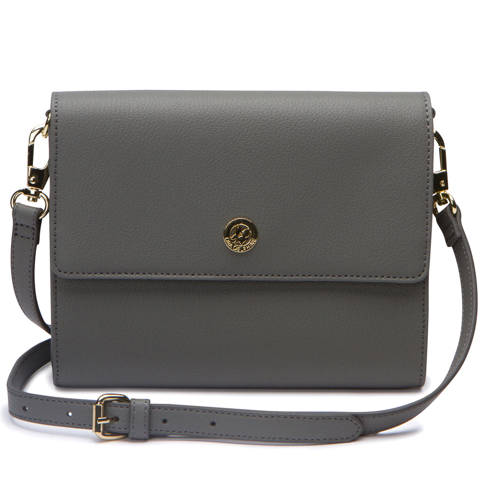 Edie Envelope Crossbody - Ash