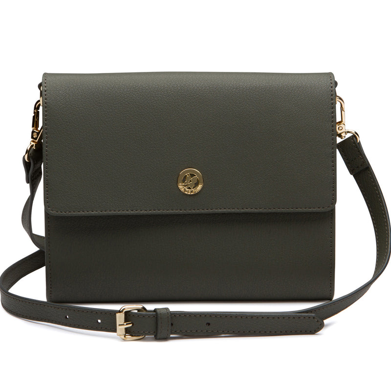 Edie Envelope Crossbody - Sage Gray