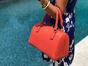 Scarlett Satchel - Italian Orange