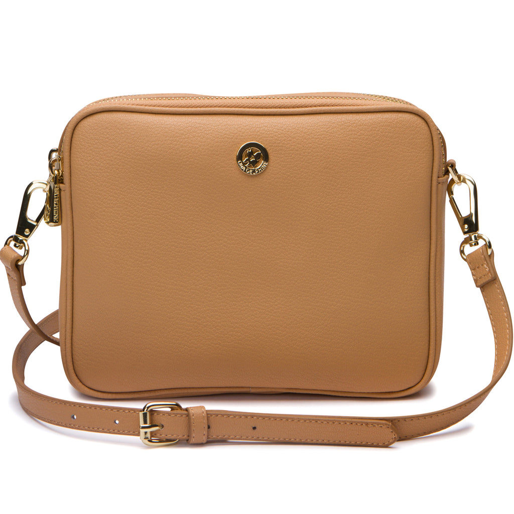 Lindsey Crossbody - Almond
