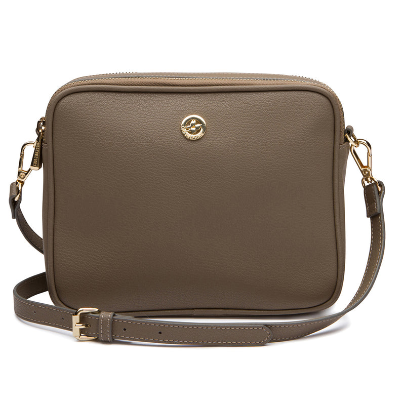 Lindsey Crossbody - Champagne Taupe