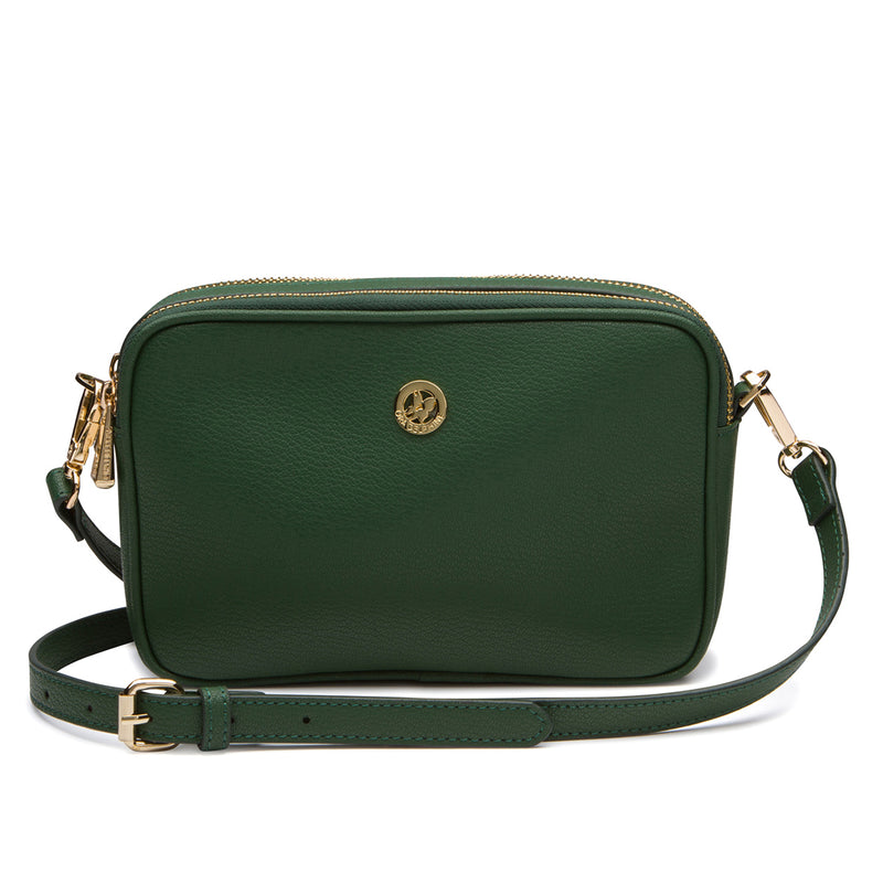 Paige Crossbody - Emerald
