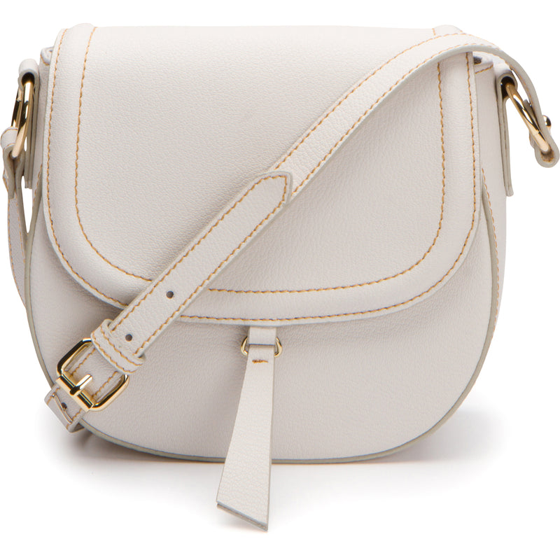Phoebe Saddle Crossbody - Linen