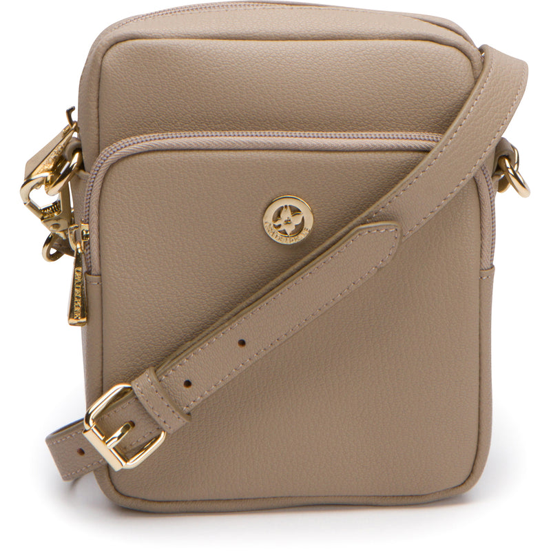 Remy Crossbody - Khaki Tan