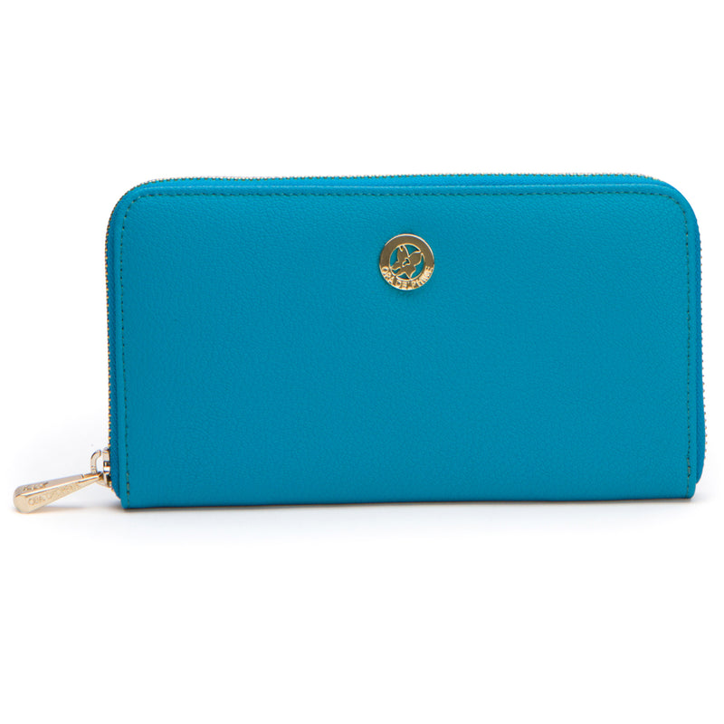 Lila Wallet - Capri Blue