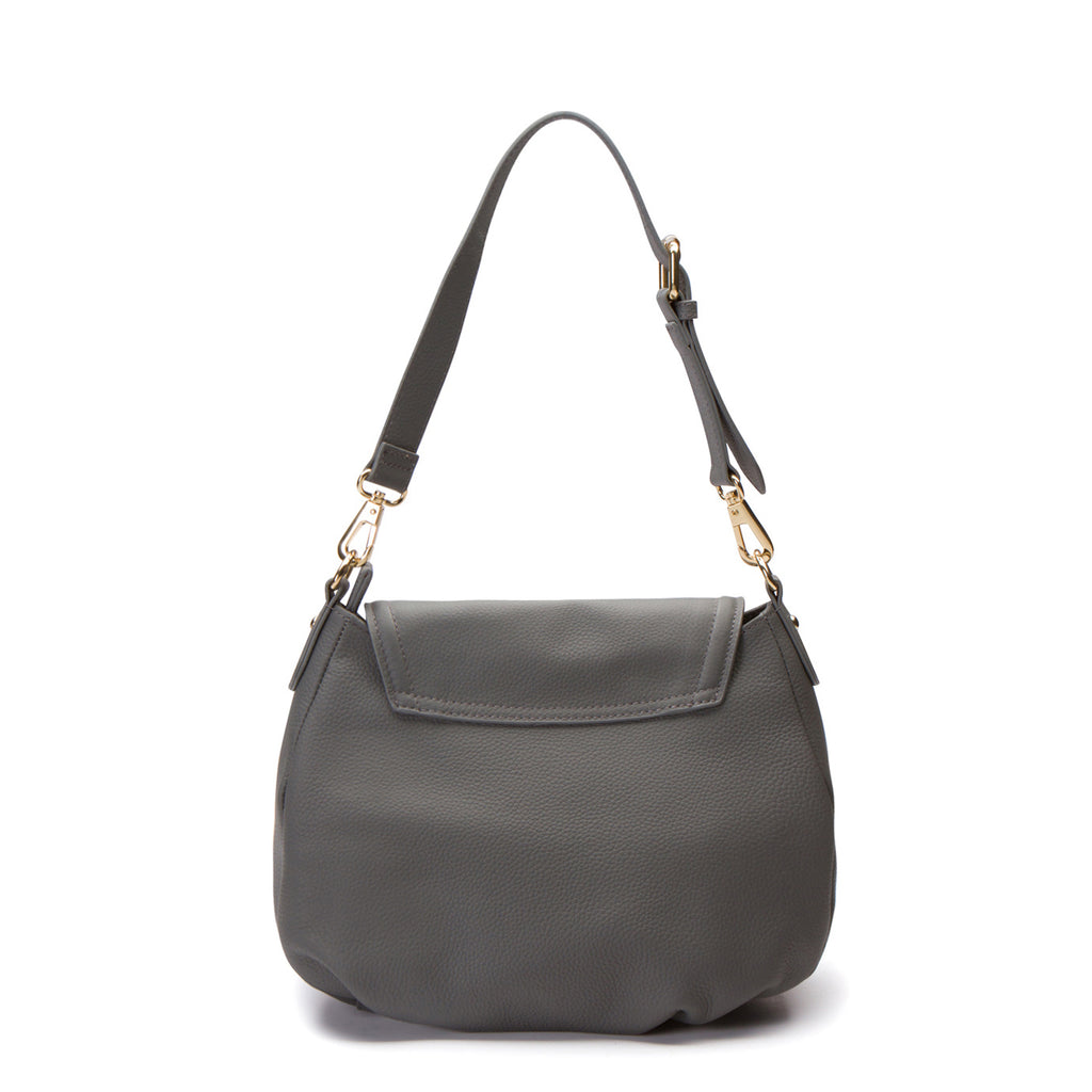 Virginia Shoulder Bag - Gunmetal