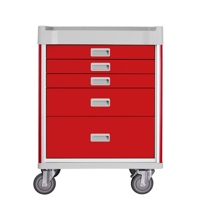"MX Emergency Cart 31"" (Red) - WIDOS Asia"