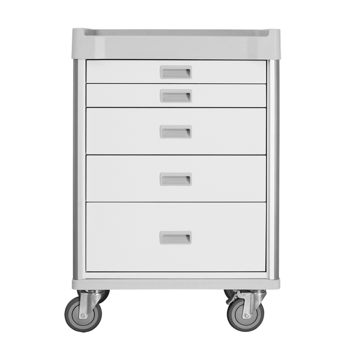 "MX Procedure Cart 34"" (White) - WIDOS Asia"