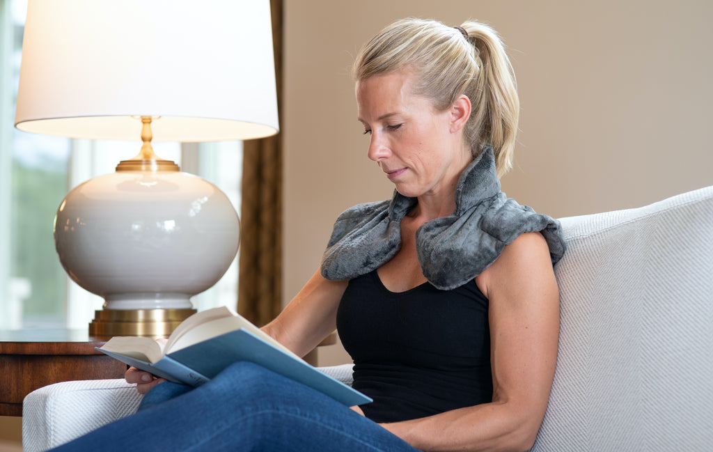 Shoulder And Neck Wrap | Healthy Herb Infused | Reduce Stress | GesundLLC.com