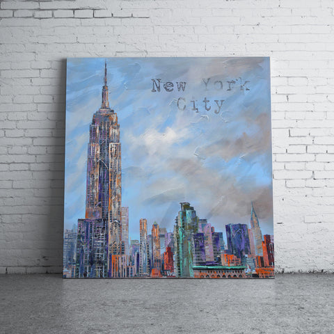 Flatiron Building Painting