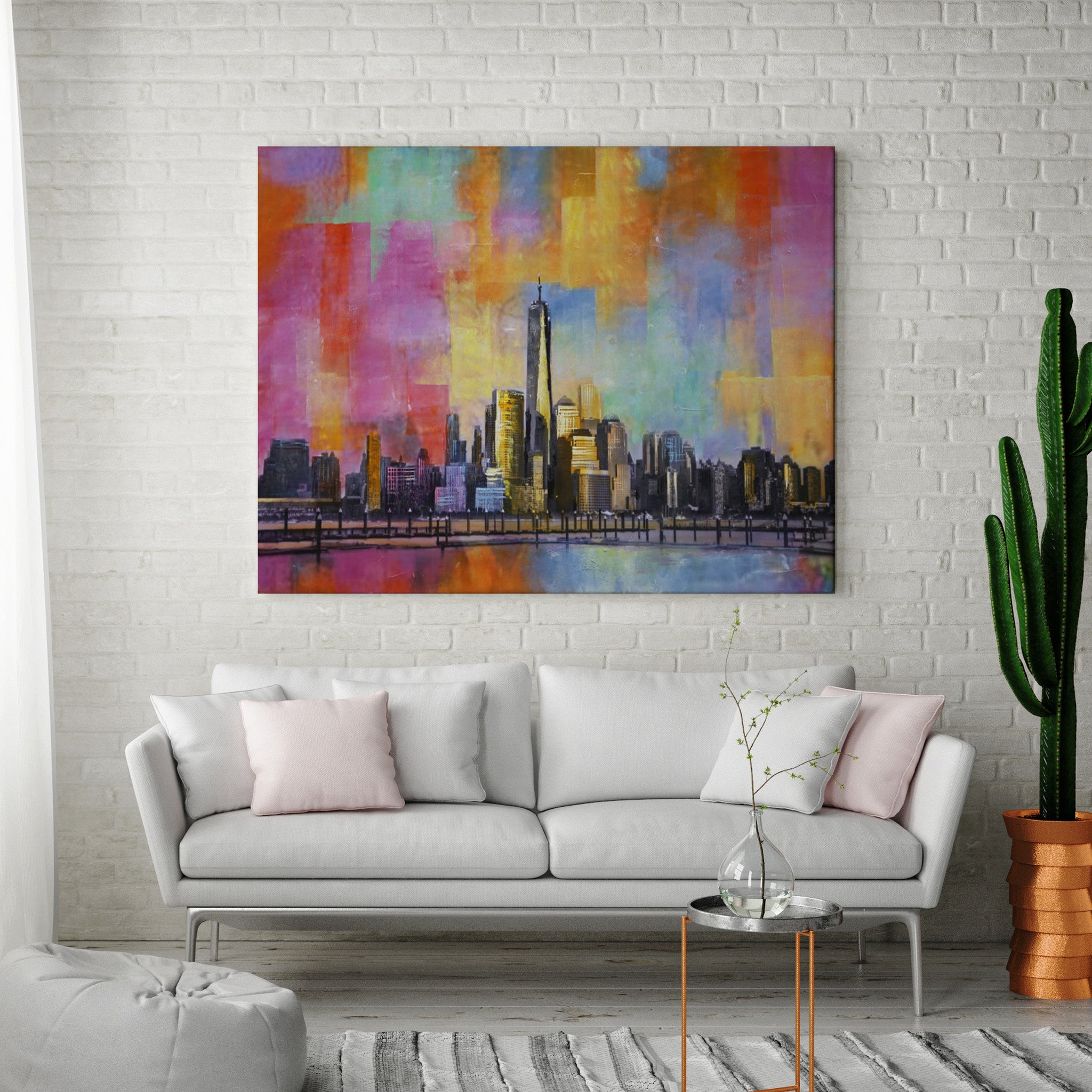 Freedom Tower Painting