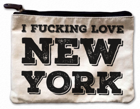 NY Illustration Canvas Tote Bag