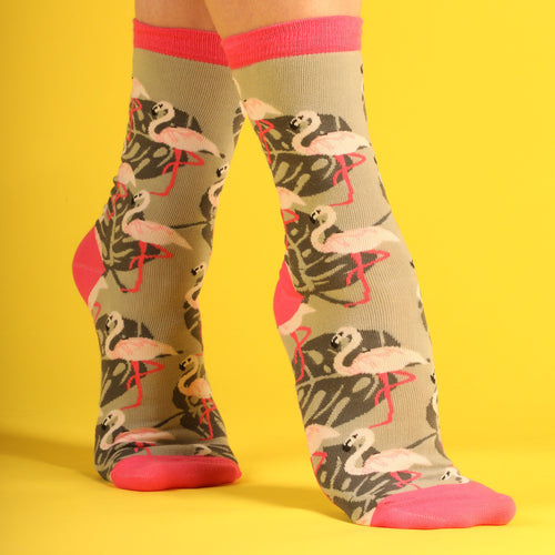 Flamingo Women's Socks