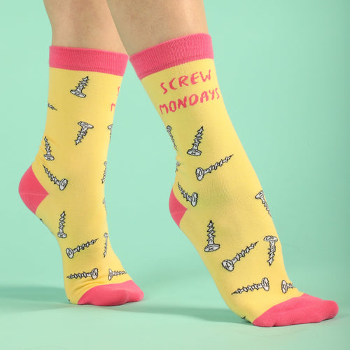 Screw Mondays Women's Socks