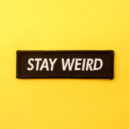 Stay Weird Patch