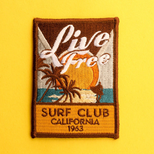 Live Free California Patch