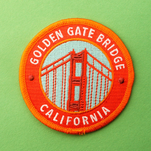 Golden Gate Bridge California Patch