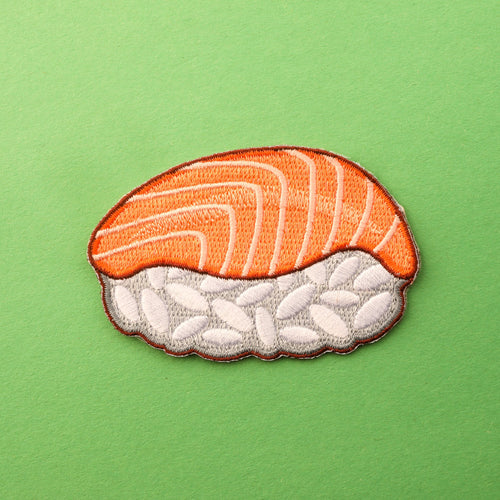 Salmon Nigiri Sushi Patch