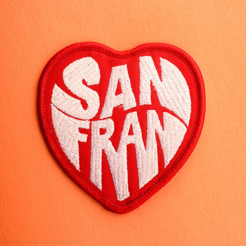 San Francisco Heart Patch