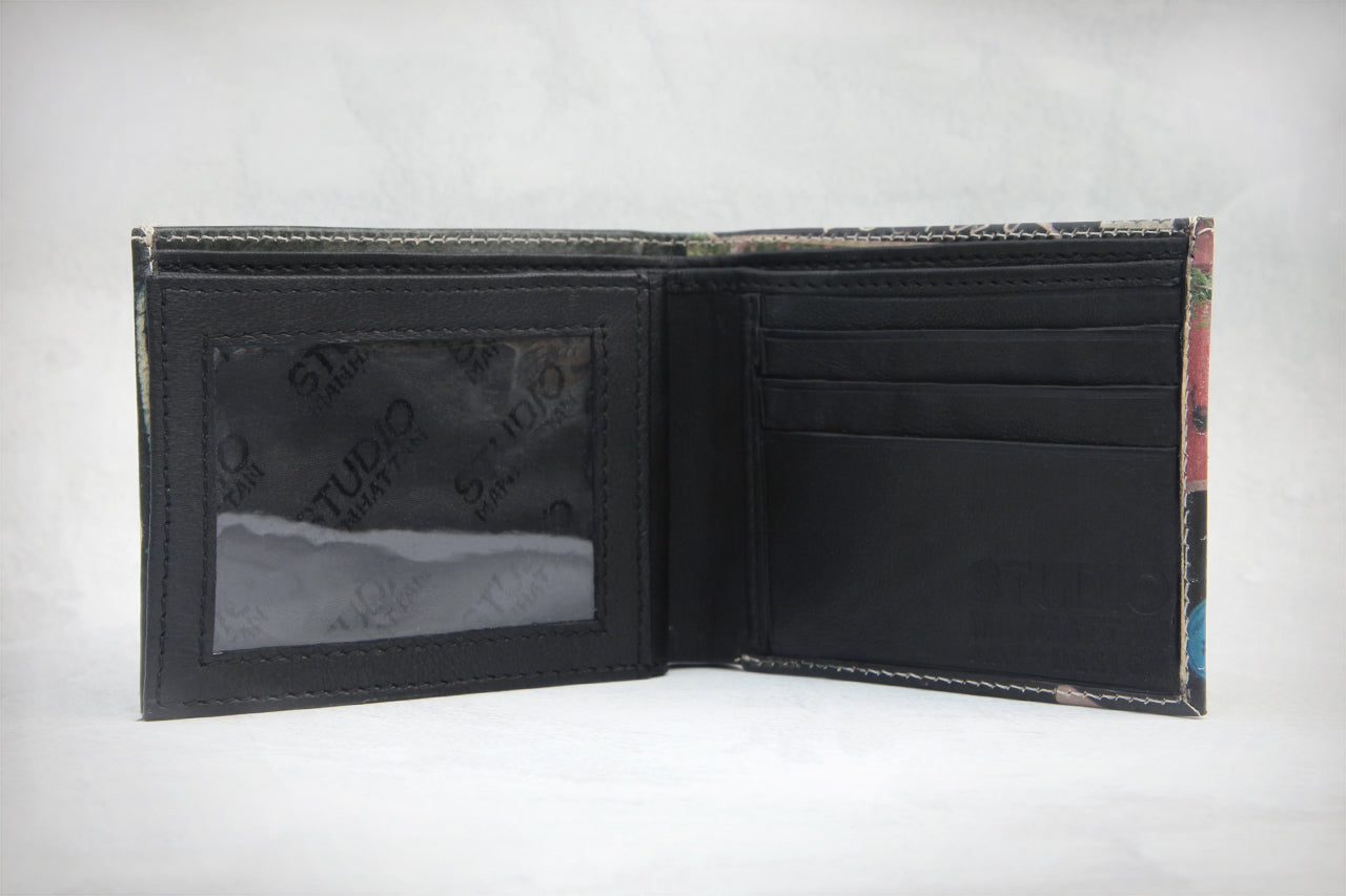 New York Subway Map Leather Taxi Wallet.Ny Combo
