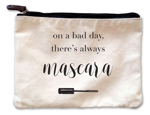 My Lashes Are Perfect Canvas Pouch