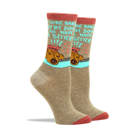 Blah Blah Blah Women's Socks
