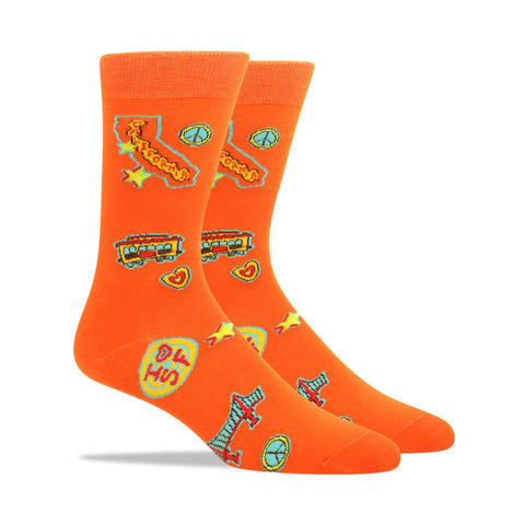 Sharks Swimming Men's Socks