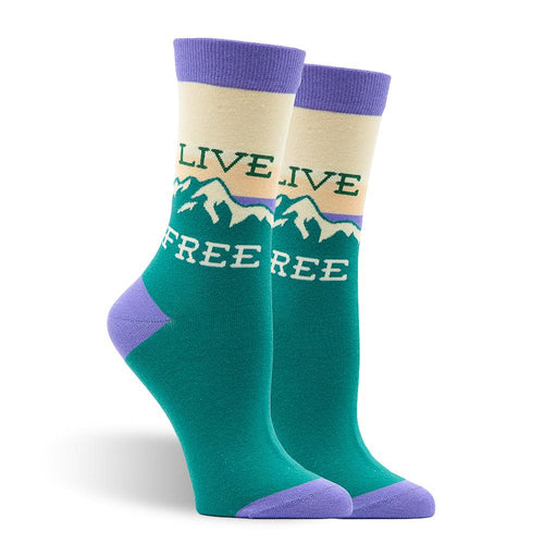 Live Free Women's Socks
